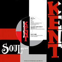 Alice Clark / The Devonnes - You Hit Me / I Couldn't Build A World With You (On The Outside) - Kent Soul image