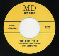 Soul Sensations - Baby I Love You Pt 1 - MD Records image