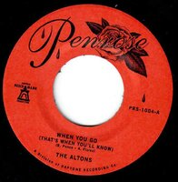 The Altons - When You Go (That's When You'll Know) - Penrose image