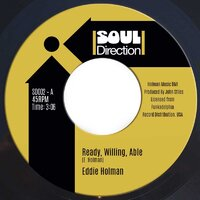 Eddie Holman - Ready Willing Able - Soul Direction Records image