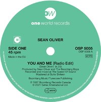 PRE-ORDER Sean Oliver - You And Me (Radio Edit) - One World Records - 07 May 2021 image