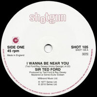 Sir Ted Ford - I Wanna Be Near You / Disco Music - Shotgun Records image