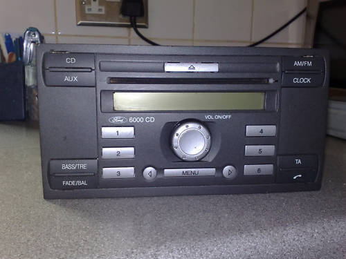 ford 6000 cd radio with bluetooth on hold general sales. Black Bedroom Furniture Sets. Home Design Ideas