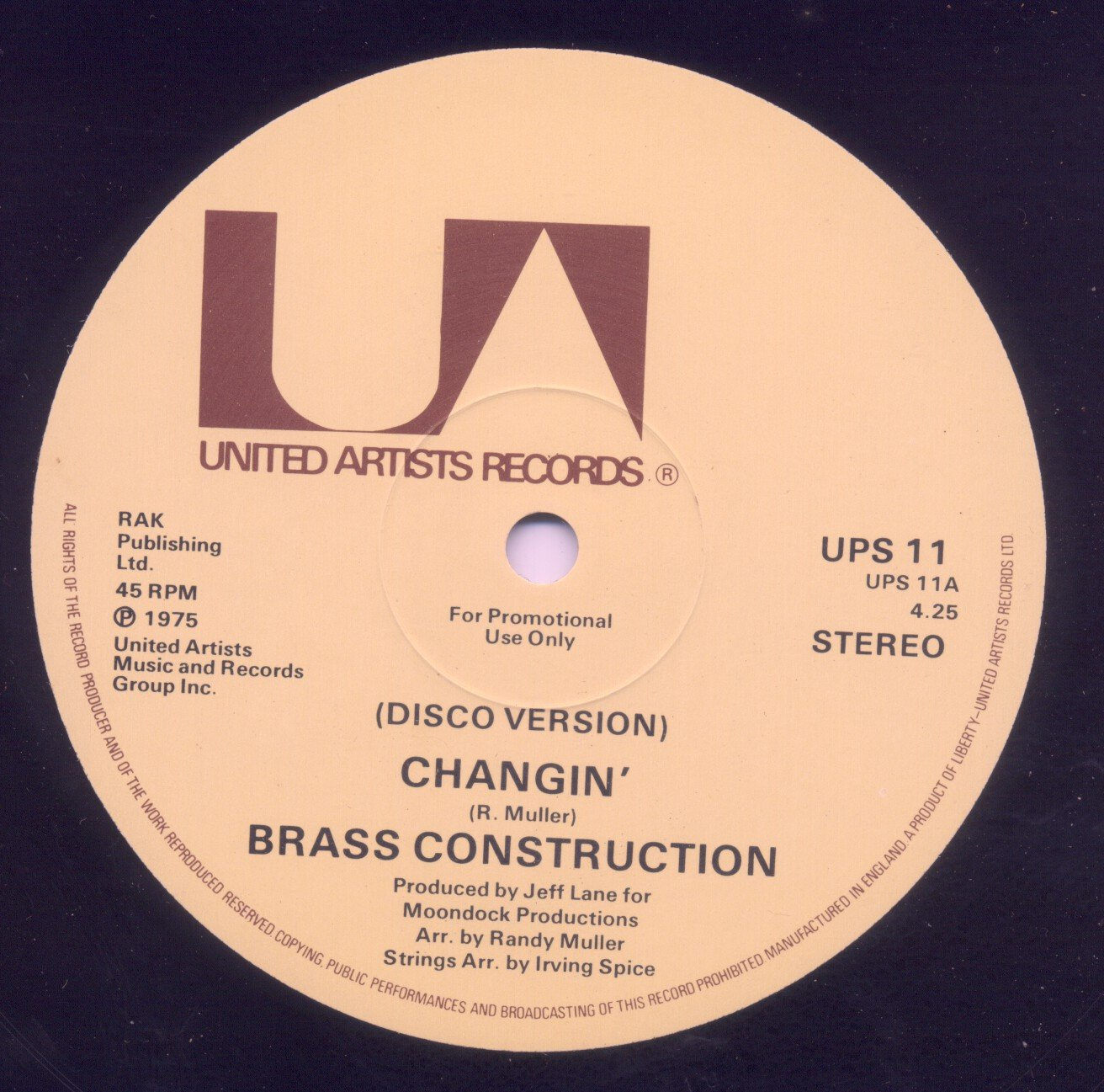 Brass Construction Ha Cha Cha Funktion