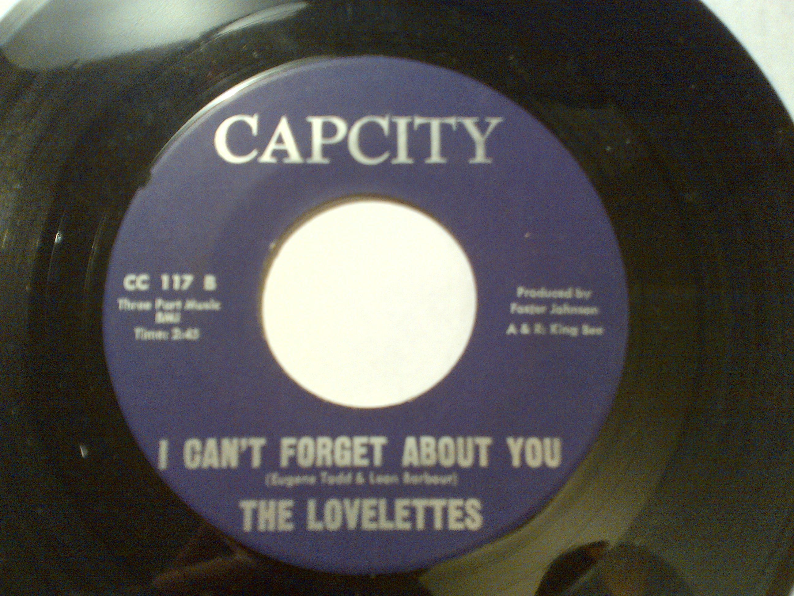 The Lovelettes - Don't Forget Poor Me