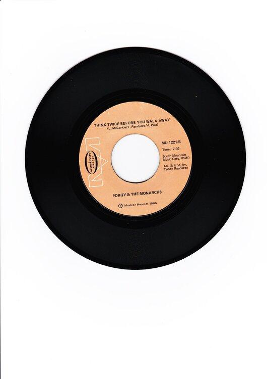 Porgy & Monarchs - Hey Girl 'B' side.jpg