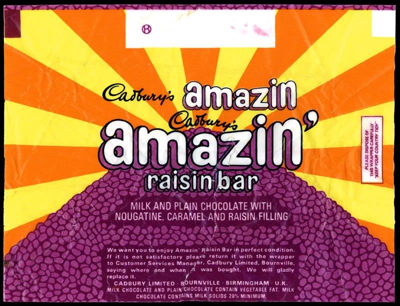 Vintage Chocolates CC_UK-Cadburys-Amazin-Raisin-bar-wrapper-1970s.jpg.9f98c7cdca1213918dc0833397c3d538
