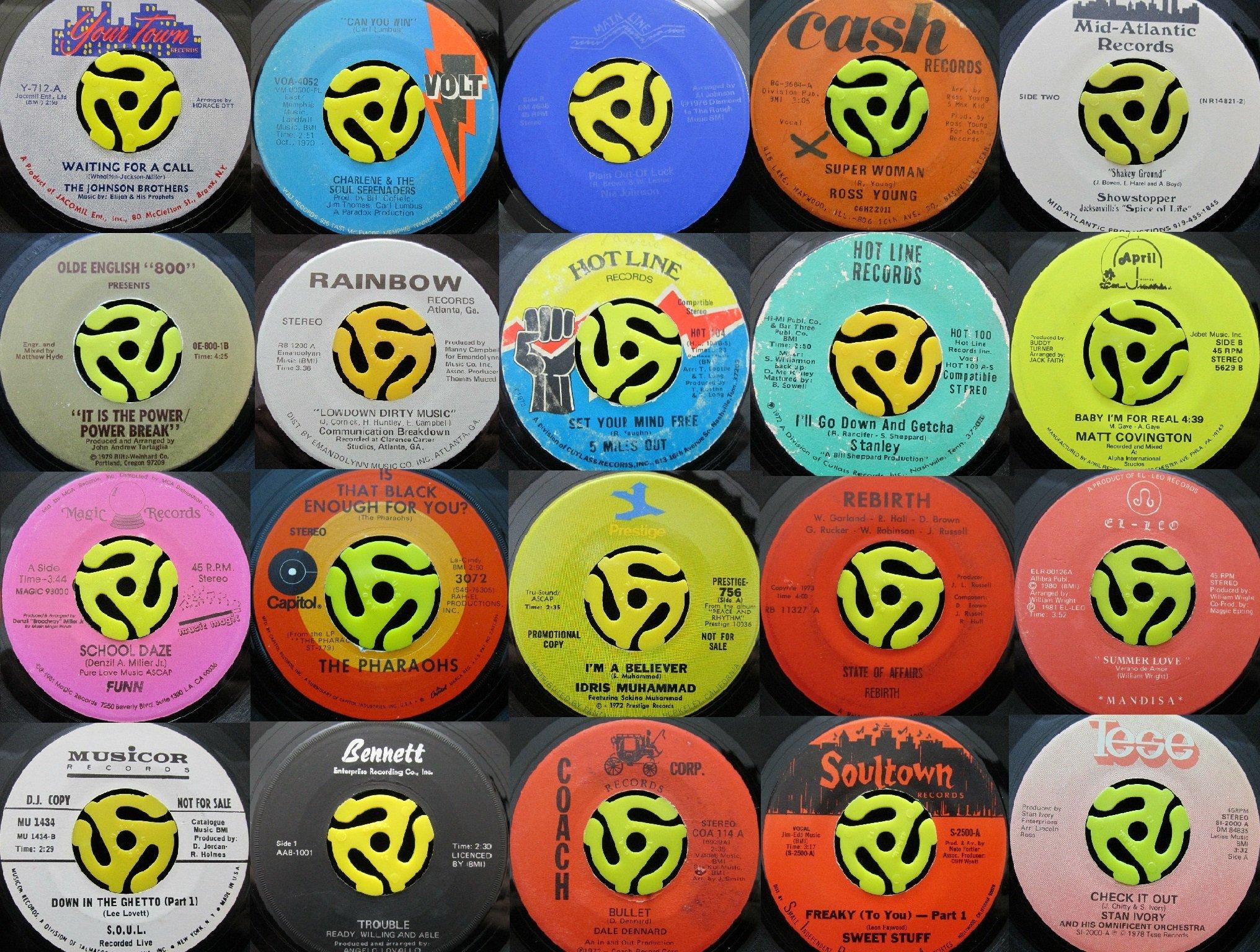 155 Soul Funk 45s with soundclips!!L@@K - Ebay & Website