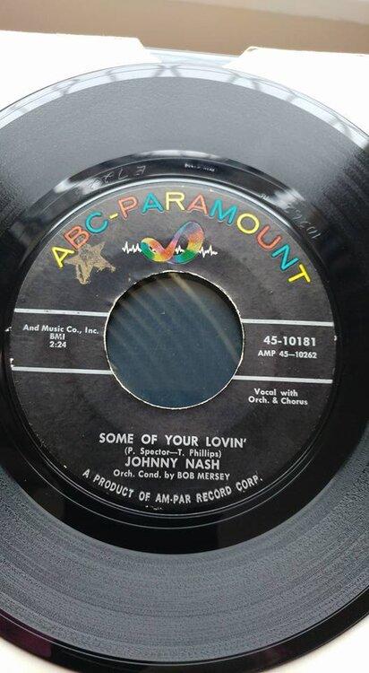 Johnny Nash - Baby You're Mine