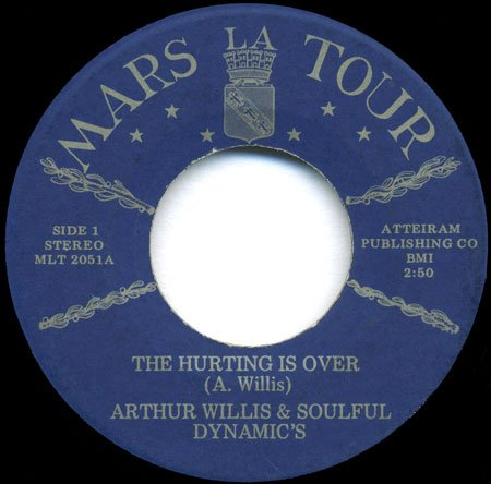 Arthur Willis & Soulful Dynamics - The Hurting is Over.jpg