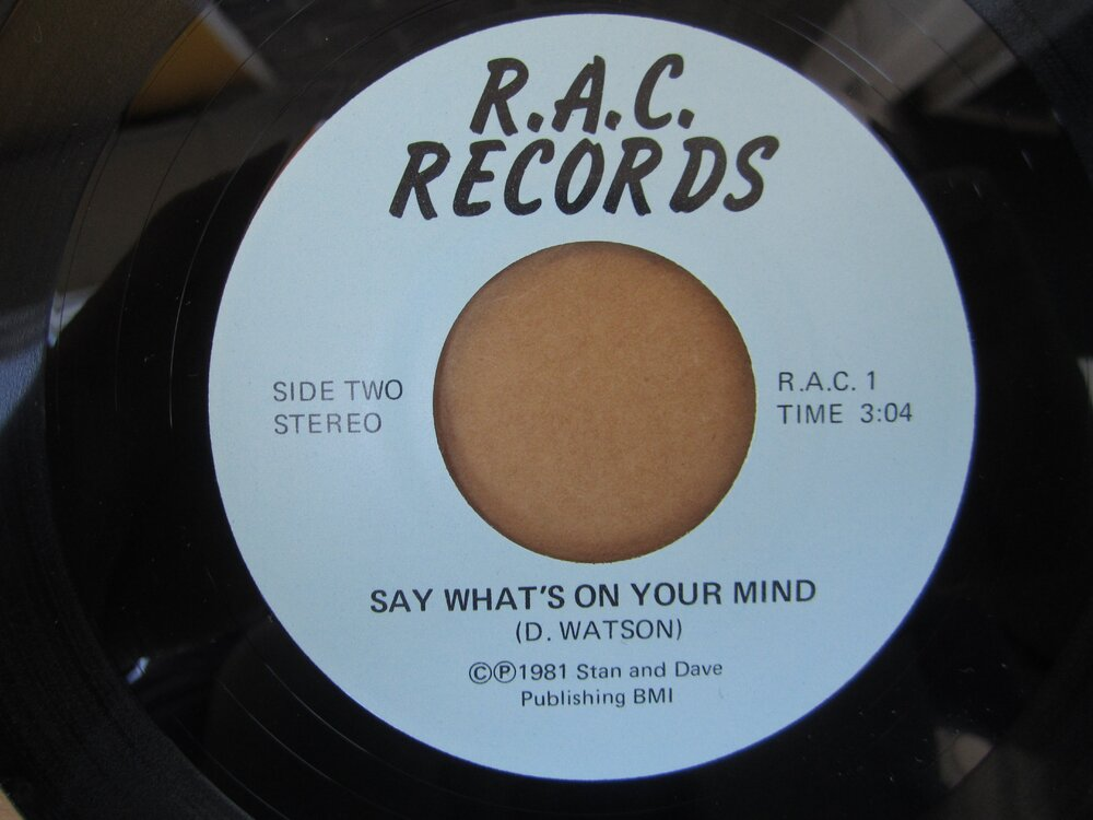 D. Watson - say what´s on your mind R.A.C.JPG