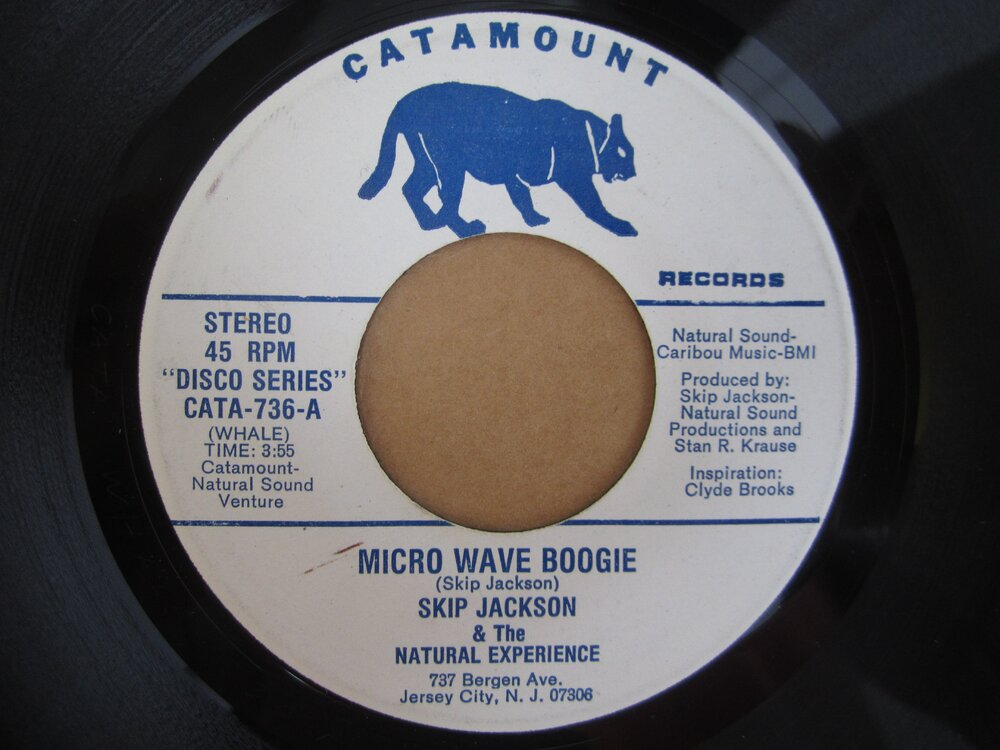 Skip Jackson & the Natural Experience - micro wave boogie CATAMOUNT.JPG