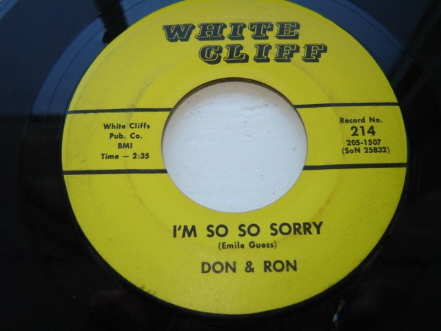 Don & Ron I'm so so sorry - Look At Your Box | Soul Source