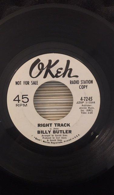 Billy Butler - Right Track.jpg