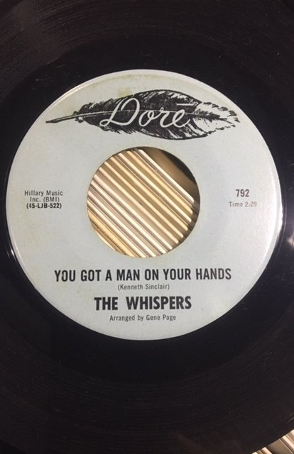 Whispers - Man On Your Hands.jpg