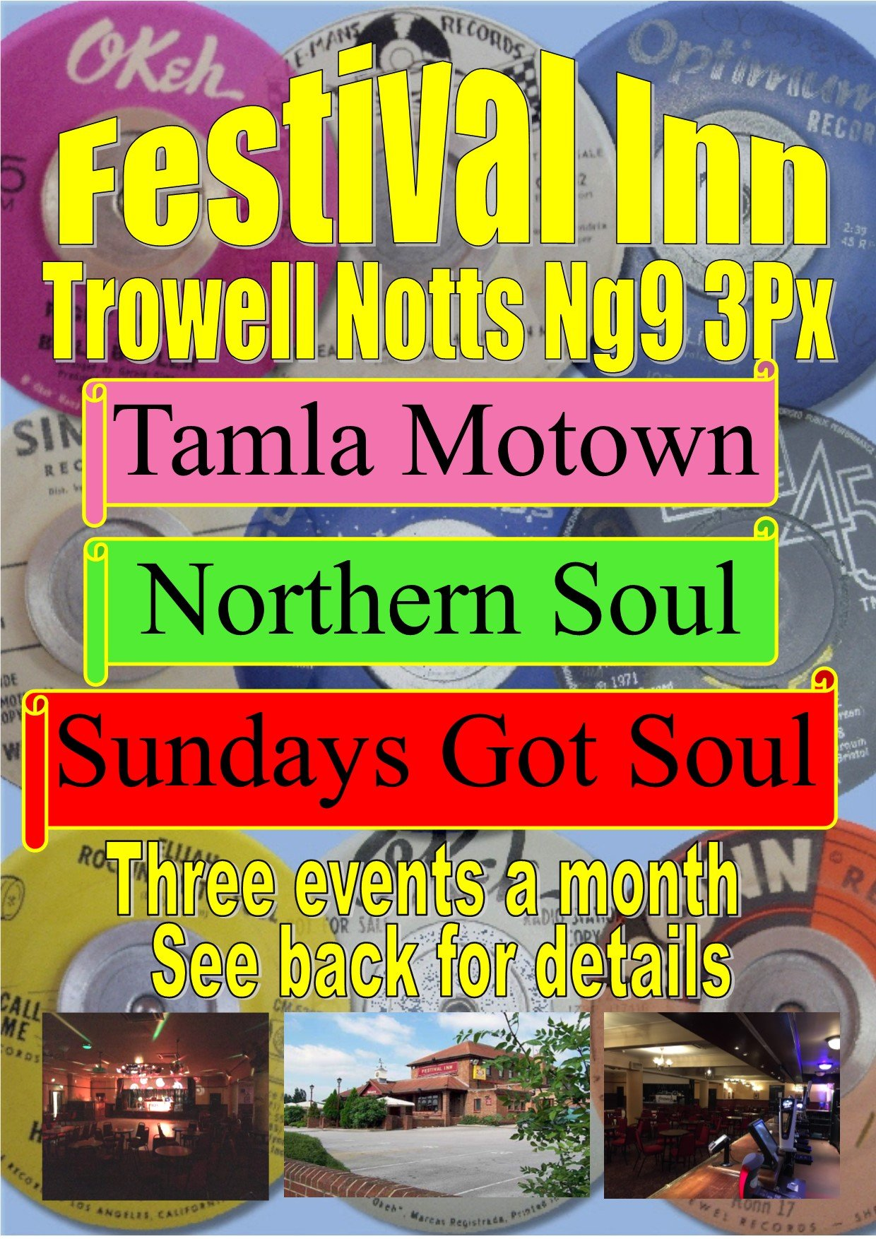 Festival Inn Northern Soul And Motown Night Mini Weekend - Soul Nights