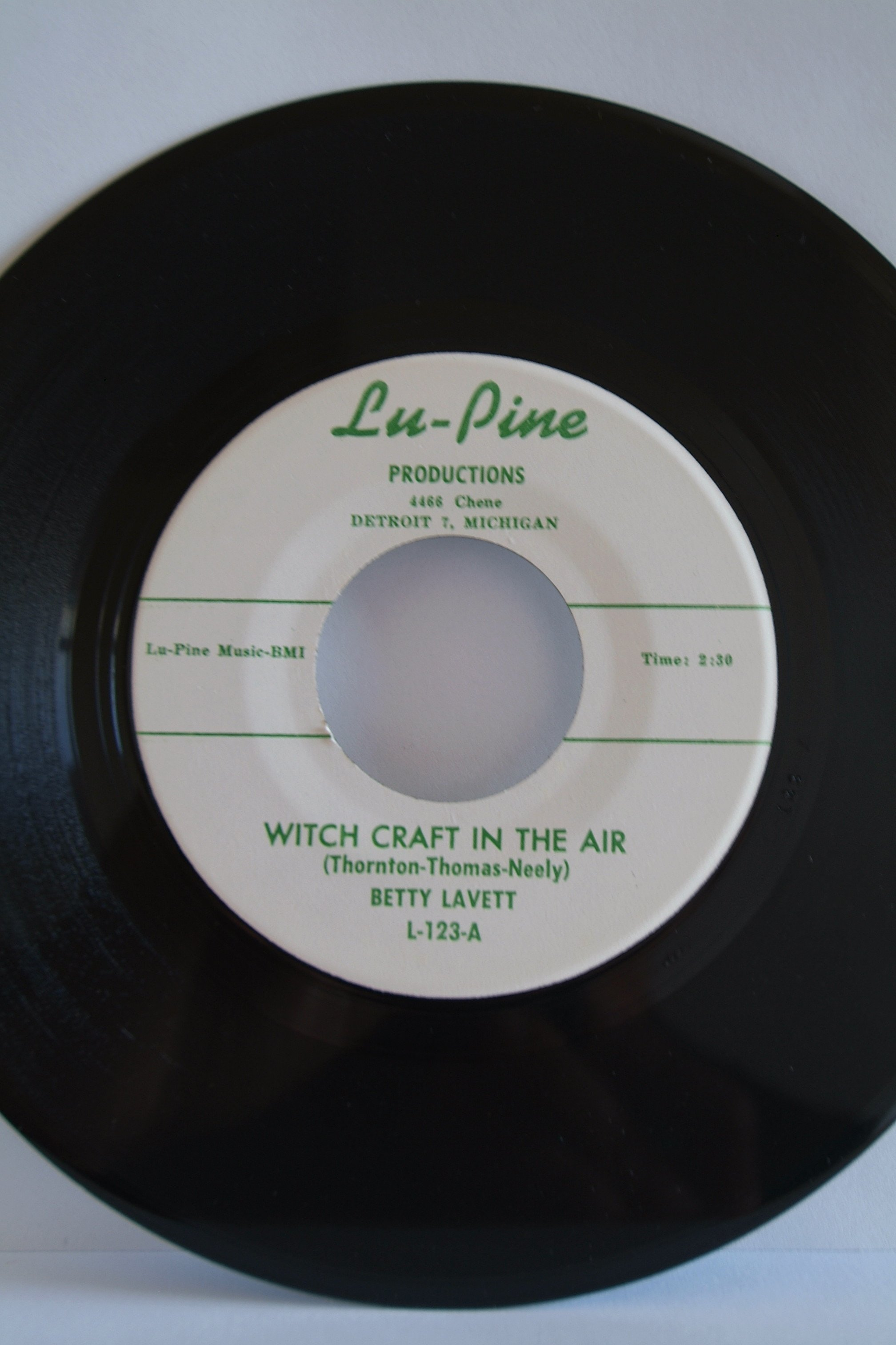Betty Lavette witchcraft in the air M- - Record Sales | Soul Source