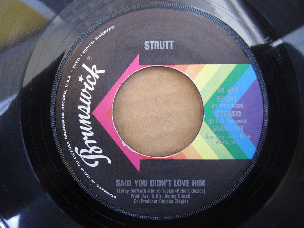 Strutt - said you didn´t love him BRUNSWICK.JPG