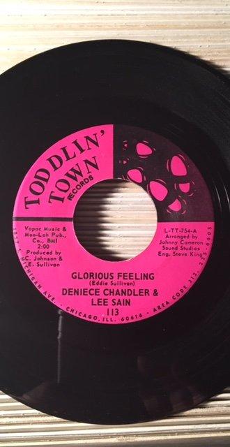 Denise Chandler & Lee Sain - Glorious Feeling.jpg