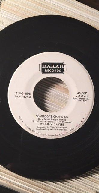 Johnny Sayles - Somebody's Changin.jpg