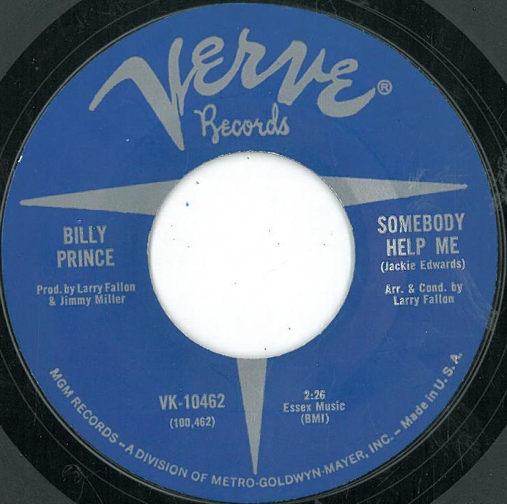 BILLY PRINCE - SOMEBODY.jpg