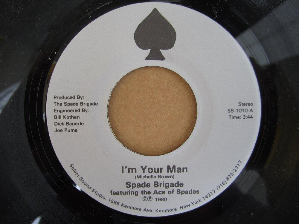 Spade Brigade - i´m your man SELECT SOUND STUDIO.JPG
