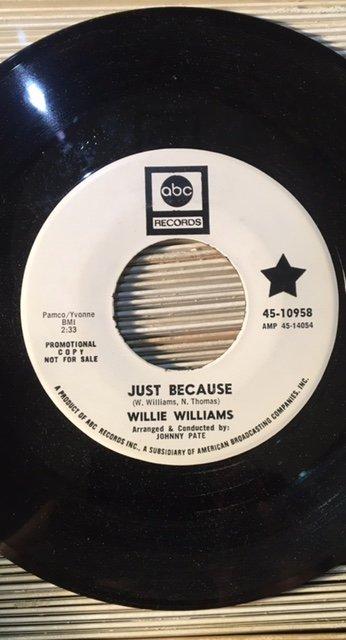Willie Williams - Because.jpg