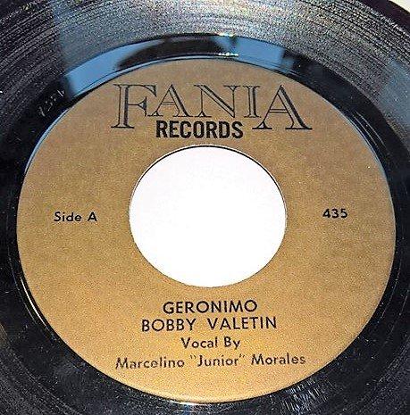 Bobby Valentin 171 Geronimo 187 Fania Record Sales Soul Source