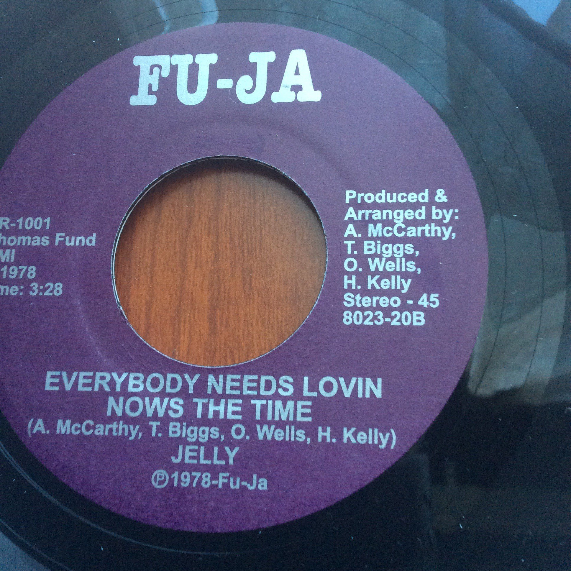 Jelly Everybody Needs Lovin Nows The Time Record Sales