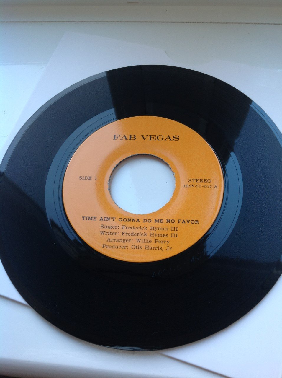 Frederick Hymes III - Time Ain't Gonna Do Me No Favor / Every Day Will Be Like A Holiday
