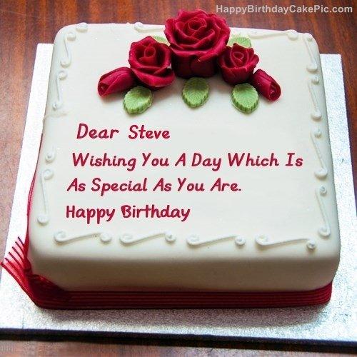 Best Birthday Cake For Lover Steve