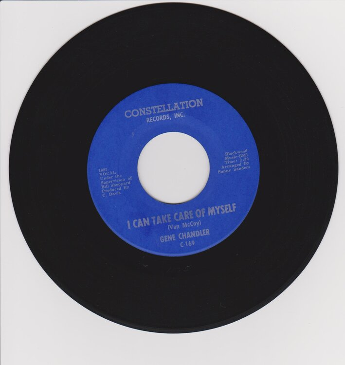 Gene Chandler - I can take care of myself 001.jpg