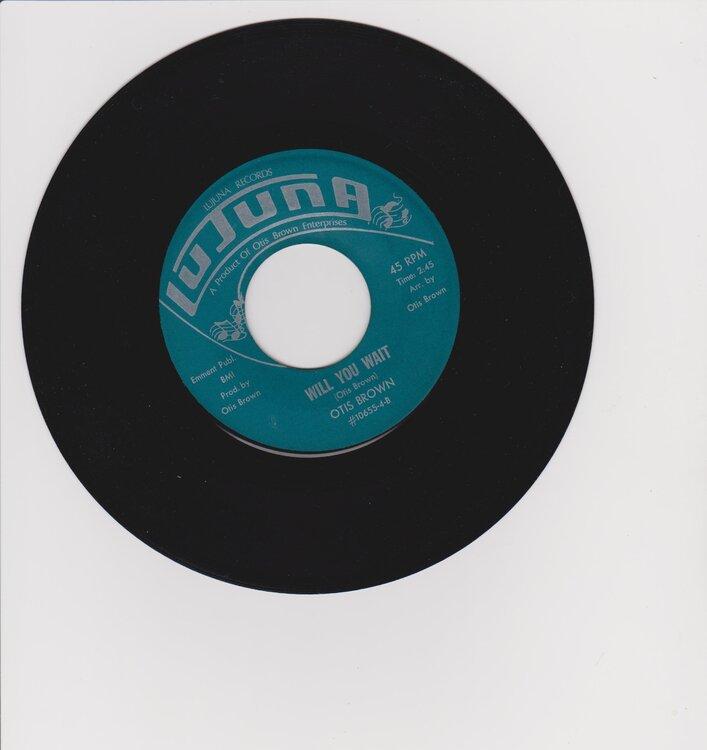 Otis Brown  - Will You wait 001.jpg