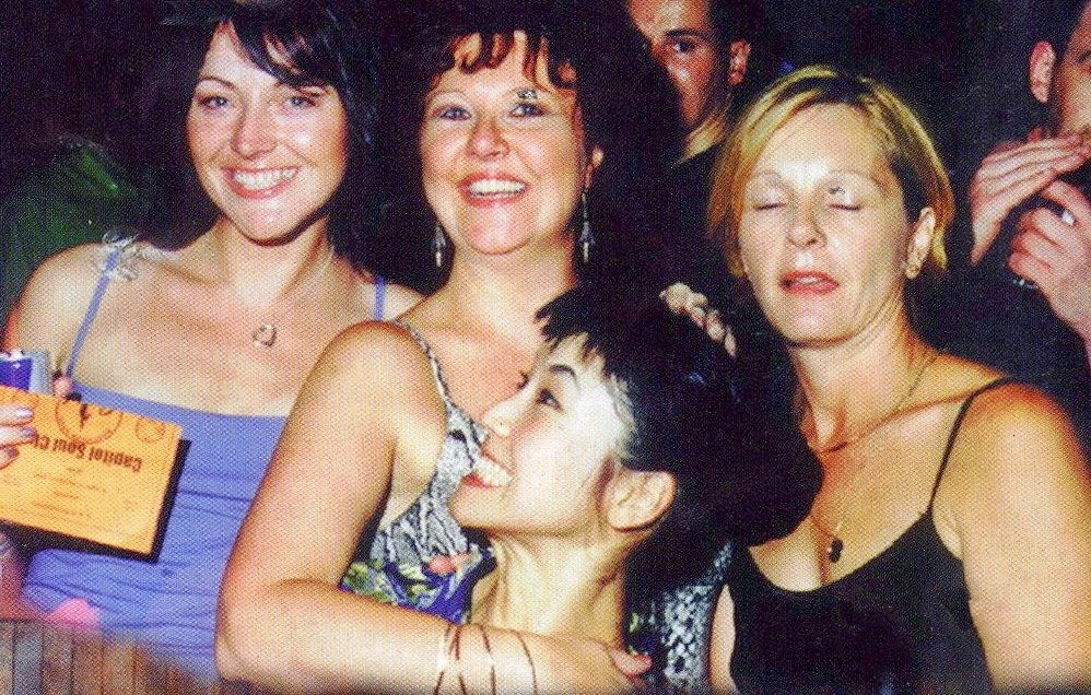 LIza at 100 Club 1999.jpg