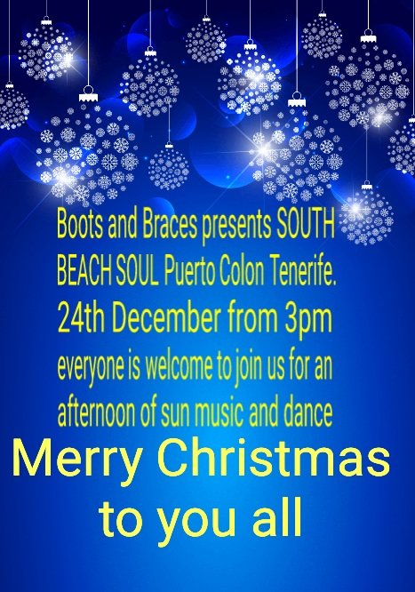 Boots and Braces presents South Beach Soul - Alldayers