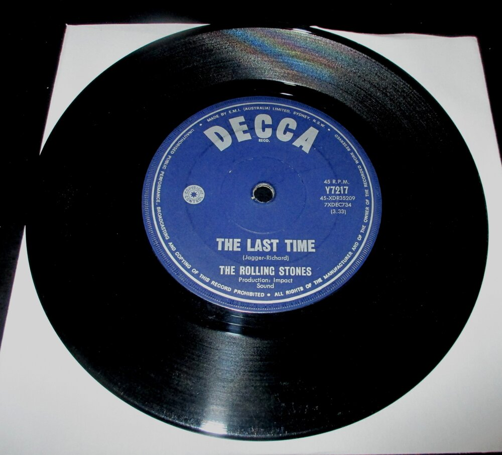 Rolling Stones - The Last Time.JPG