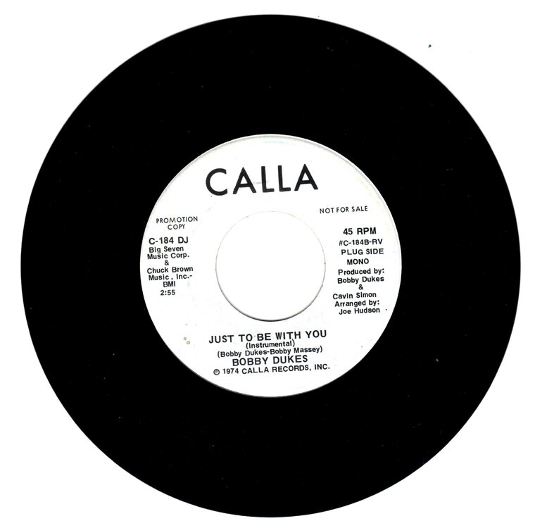 Bobby Dukes - Just To Be With You (Instrumental £15 001.jpg
