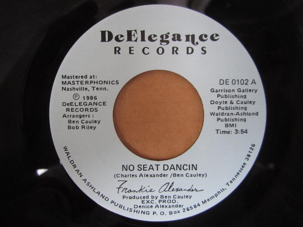 Frankie Alexander - no seat dancing DEELEGANCE.JPG