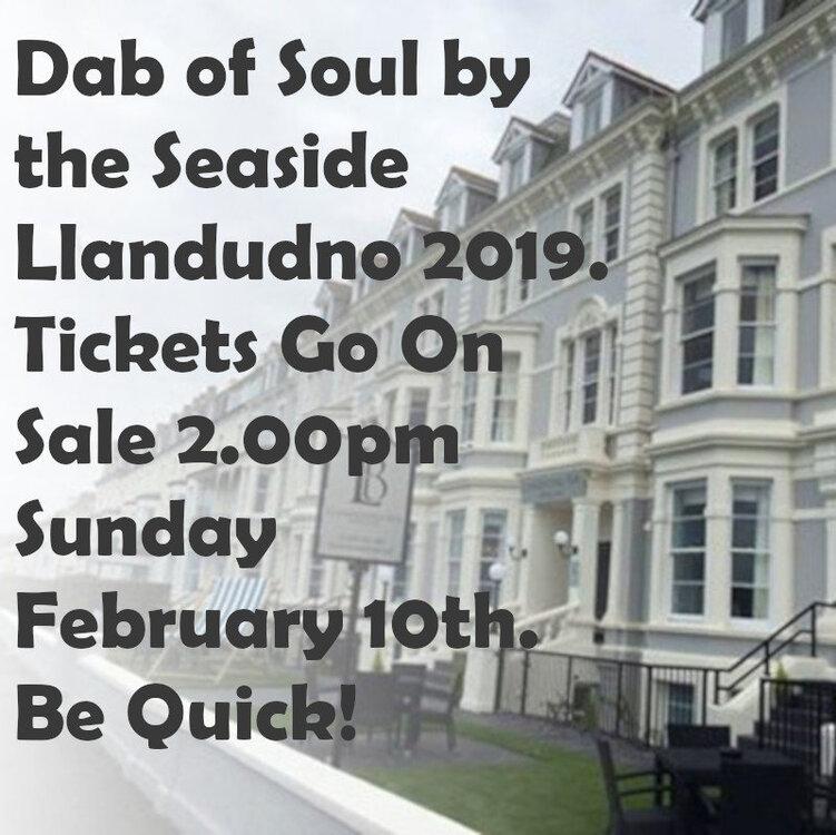 Llandudno 2019 ticket sale.jpg