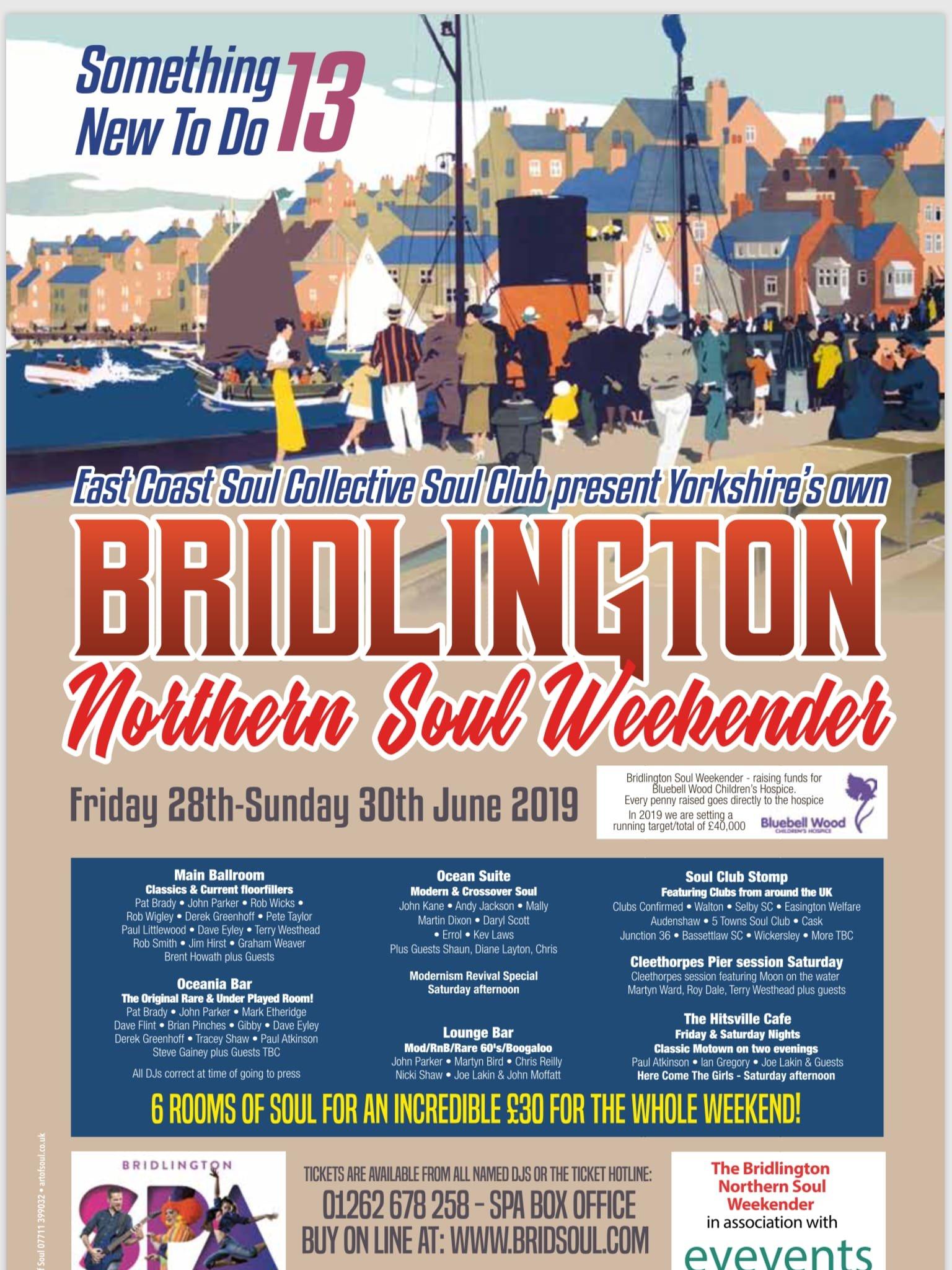 c820e53dc4 Bridlington Spa Northern Soul Weekender #13 - Weekenders | Soul Source