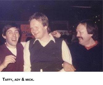 Taffy Ady and Mick 100 Club