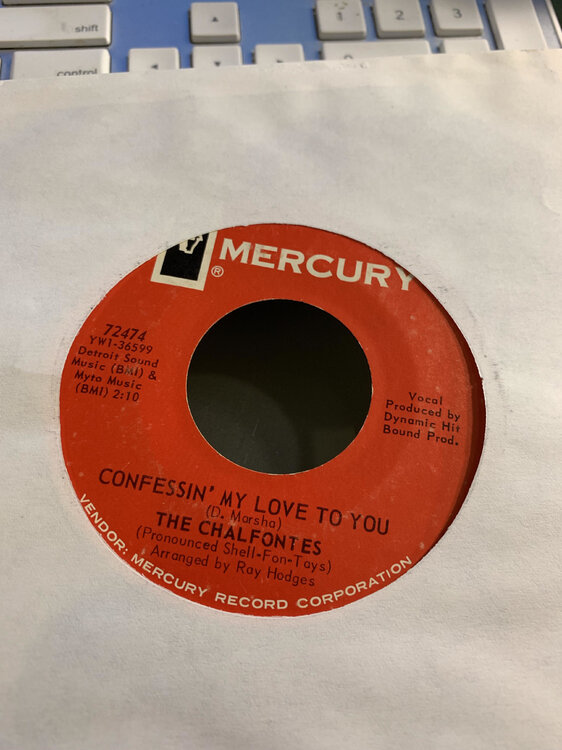 The Chalfontes - Confessin' My Love To You (B).jpg