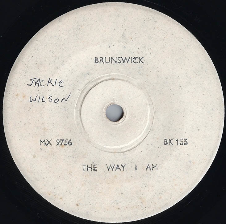 soul Jackie Wilson The way I Am