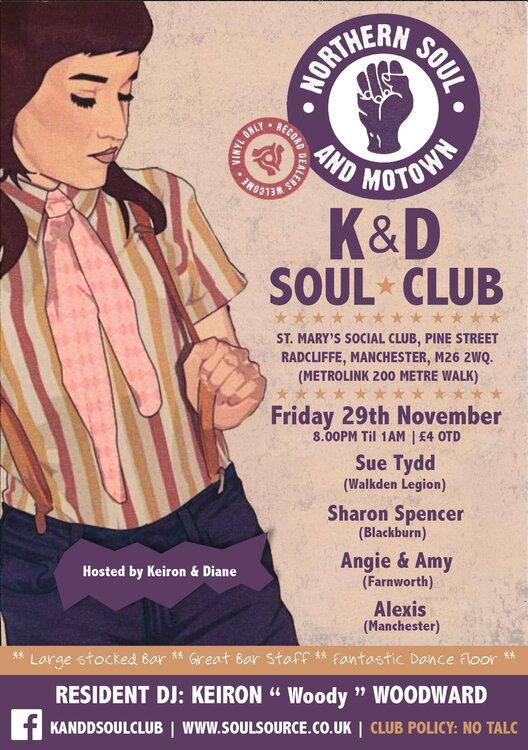 soul K&D's.NOVEMBER19