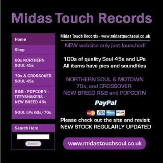 soul midas touch web flyer