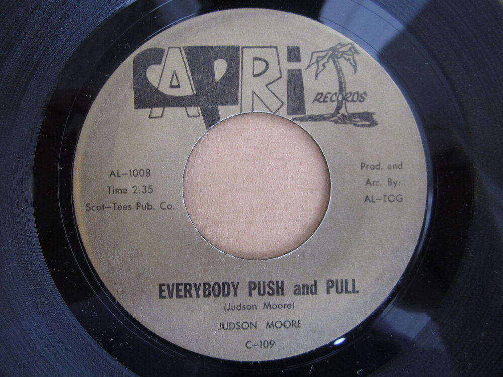 soul Judson Moore   everybody push and pull CAPRI