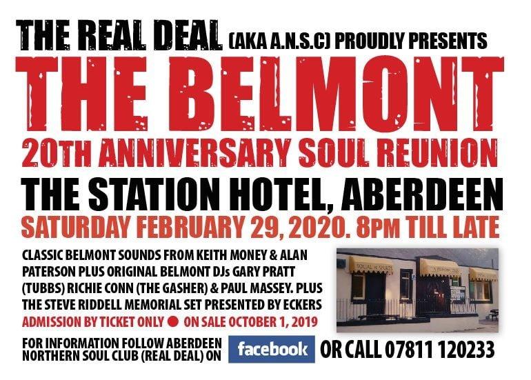 soul belmont reunion