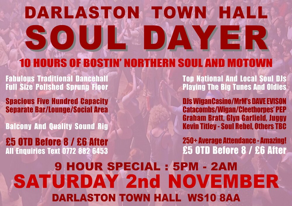soul Darlo Town Hall   Nov2019 B