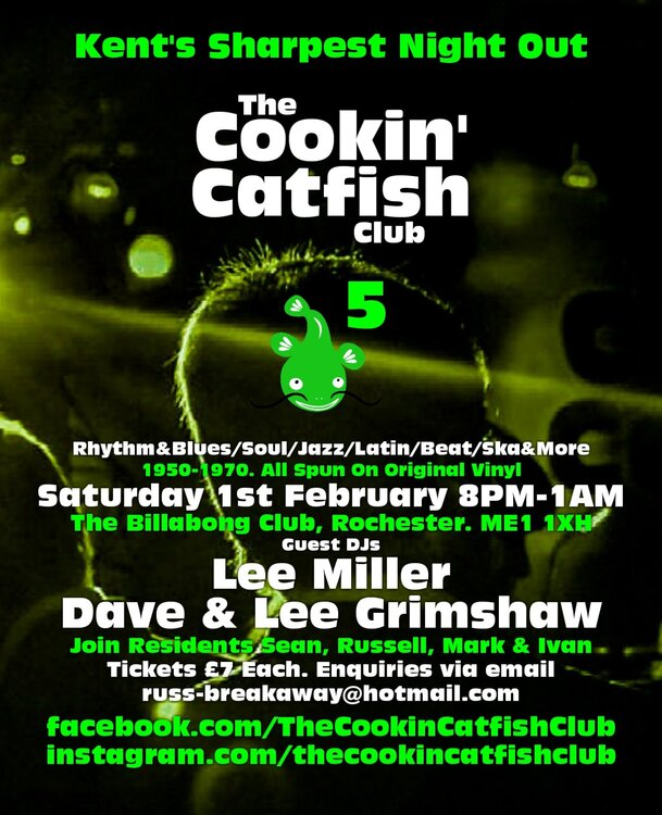 The Cookin Catfish Club 5 01 Feb 2020 Rochester Source