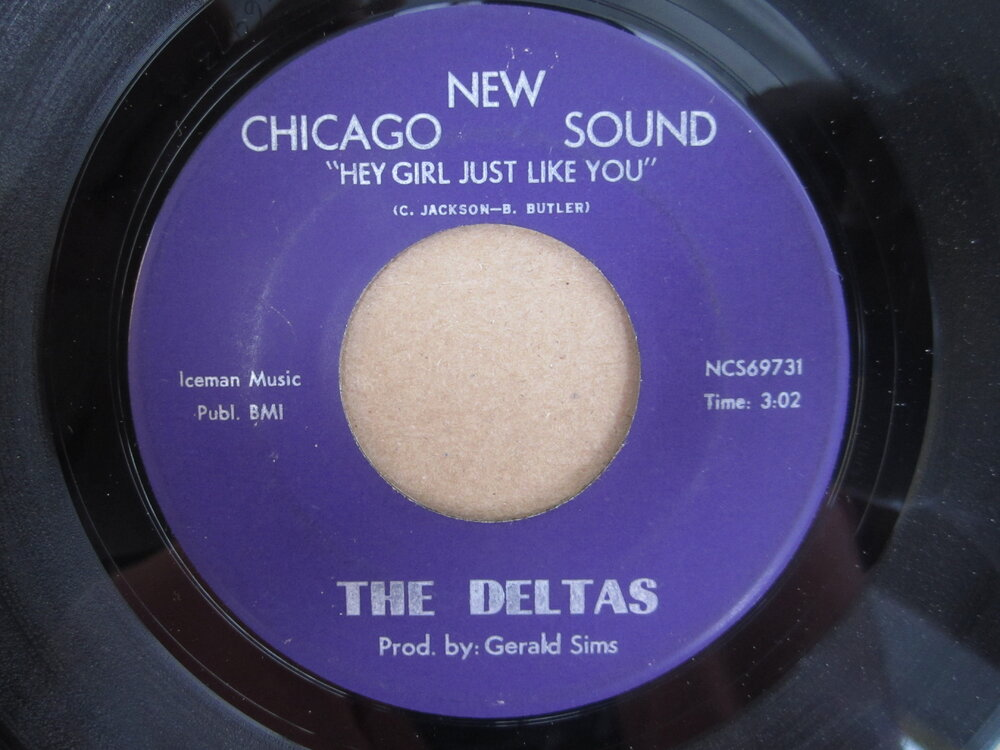 soul Deltas   hey girl just like you NEW CHICAGO SOUND